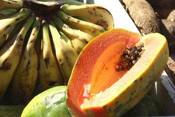 Папайя содержит только 32 ккал на 100 г