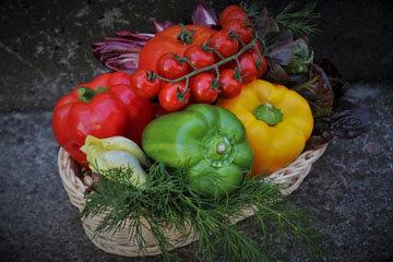 много-много овощей