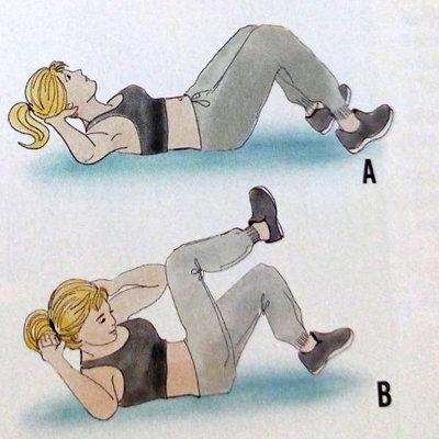 Эффективные упражнения для сжигания калорий 2 шариков мороженого 2