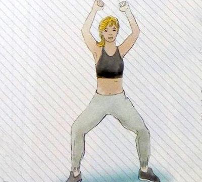 Упражнения для сжигания 1000 калорий 3