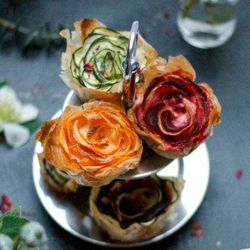 закуска Зимние розы