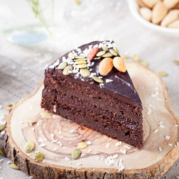 Свекольный пирог с шоколадом