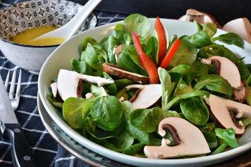 Похудеть с салатами