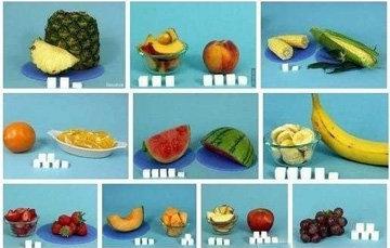 Сахар в виде цельных фруктов 1