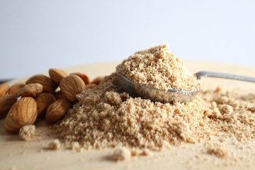 Высокое содержание белка - 21 г на 100 г миндаля