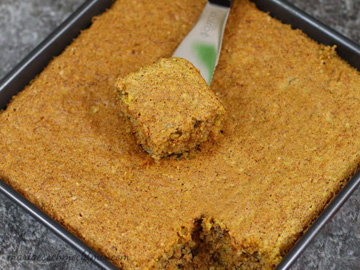 Ароматный морковный пирог без муки