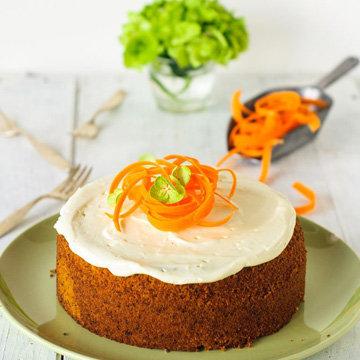 Мастер класс Морковный пирог. Пошаговый рецепт 5