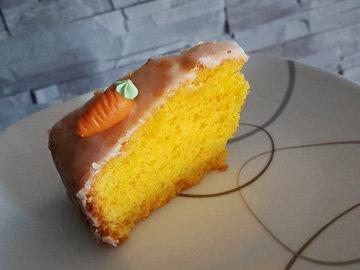 Морковно-апельсиновый пирог