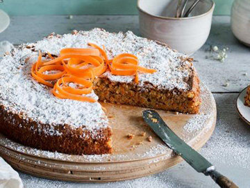 Морковный пирог рецепт без муки