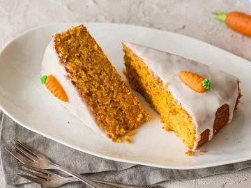 Пищевая ценность морковного пирога на 100 г