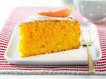 Сочный морковный пирог