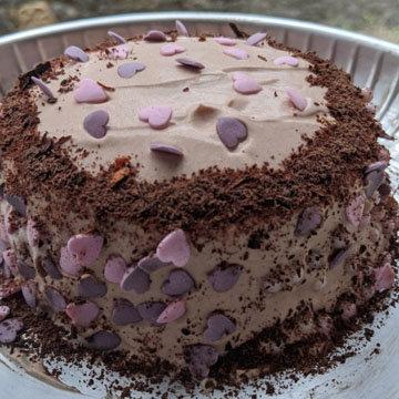 Рецепт шоколадного торта без яиц с растительным маслом 1
