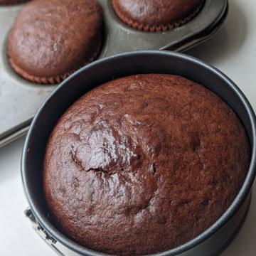 Рецепт шоколадного торта без яиц с растительным маслом 4