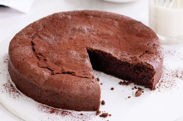 Шоколадный торт без яиц 1