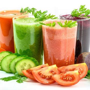 Овощные соки лучше чем фруктовые!