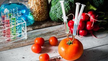 Свежие продукты также содержат пищевые добавки