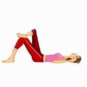 Упражнение 3 Косые Ситап Sit-ups 1
