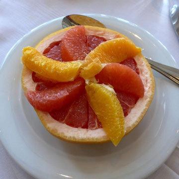 Грейпфруты - это идеальное блюдо с низким содержанием калорий
