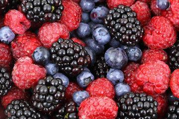 Пеките с ягодами