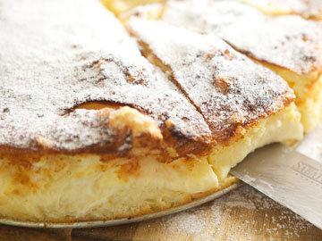 Рецепт диетического пирога с ванилью и пудингом 1