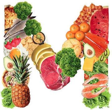 Ешьте овощи, белки и углеводы в правильных пропорциях