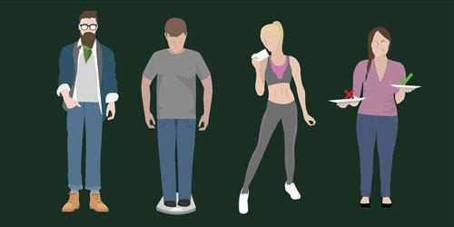 Напрягайте мышцы до и после еды