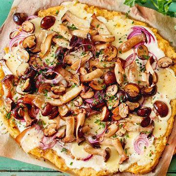 2. Тесто для пиццы из льняного семени
