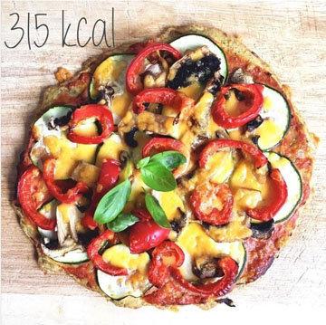 Кето-пицца на сырной основе