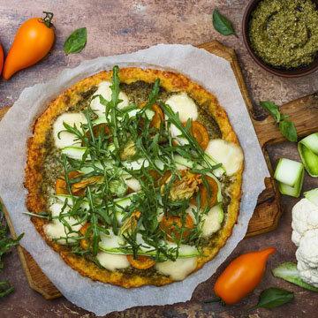 Тыквенная основа для пиццы