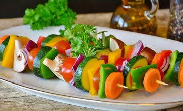 ешьте не менее 500 граммов овощей