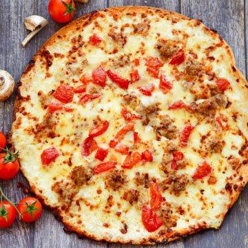 пицца из тунца