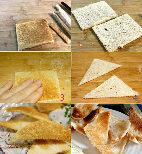 Как приготовить тосты мельба