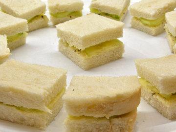 Рецепт бутербродов с огурцами