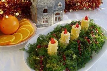 Рецепты салатов на Новый год 2021