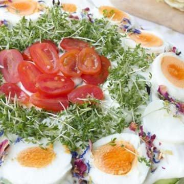 Салатный торт для низкоуглеводной диеты
