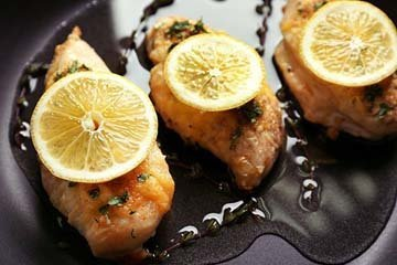 1. Вкусная курица с лимоном