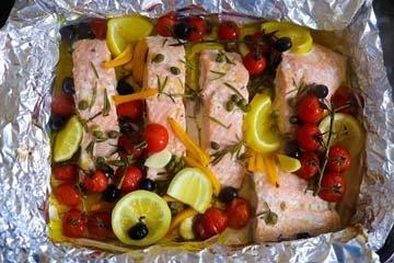 Блюда из рыбы в собственном соку