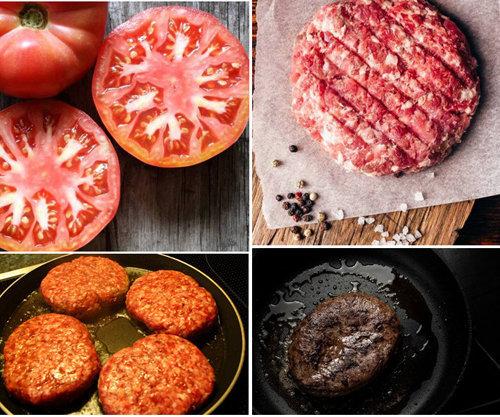 Бургер с помидорами 2