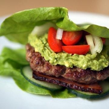 Бургер в салате 1