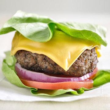 Бургер в салате 2