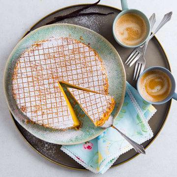 Как испечь новогодний торт без муки