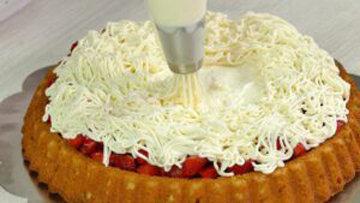 Лучший новогодний торт Мороженое-Спагетти 1