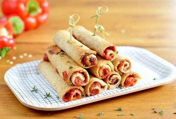 Роллы с болгарским перцем