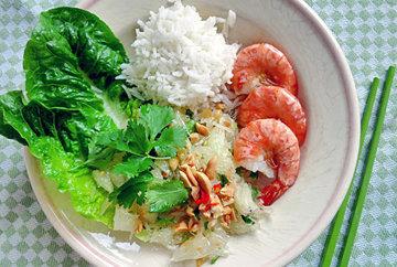 Тайский салат для диеты