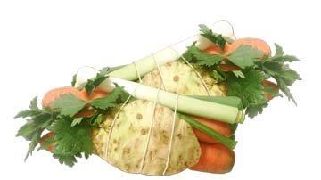 Зелень и овощи для супа