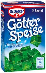 пакетик зеленого желе со вкусом ясменника
