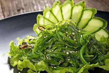 Морские водоросли. Салат