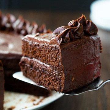 Шоколадный ПП торт 2