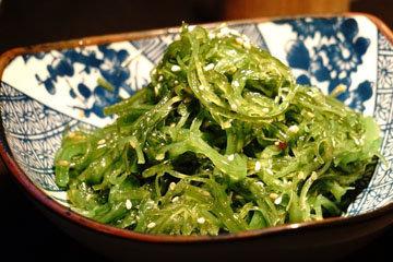 Содержание йода в водорослях