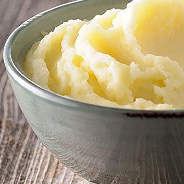 картофельное пюре с хреном